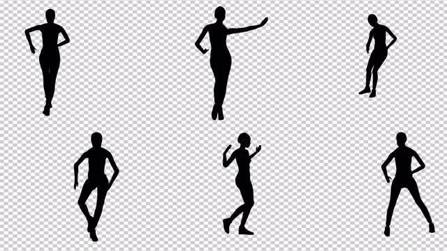 Girl Dancing Salsa Pack: Stock Motion Graphics