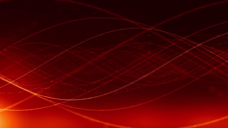 Red Sine Waves Background Loop: Stock Motion Graphics