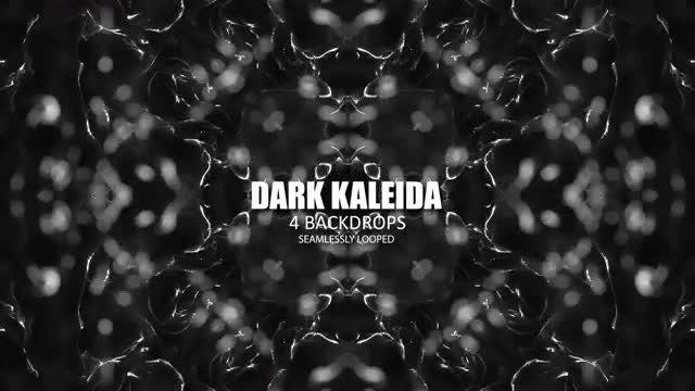 Dark Kaleida Backdrops Pack: Stock Motion Graphics