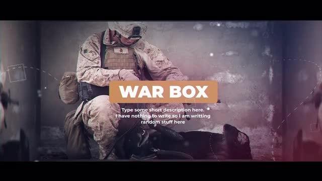 War Box: After Effects Templates