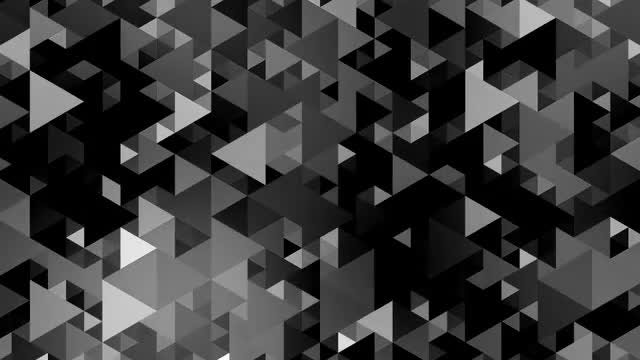 Triangles Moving Geometric Background: Stock Motion Graphics