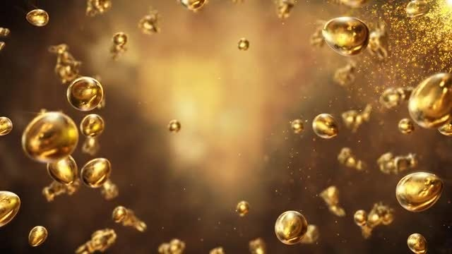 Golden Easter: Stock Motion Graphics