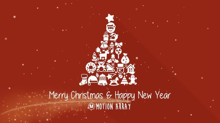 Christmas Collages: After Effects Templates