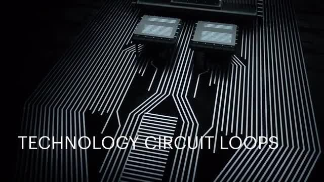 Technology Circuit Loops Pack: Stock Motion Graphics