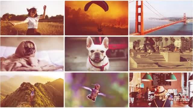Dynamic Frames Promo: After Effects Templates