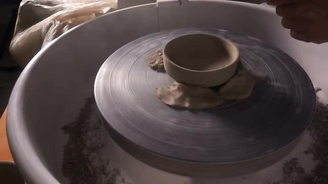 Shaping Clay: Stock Video