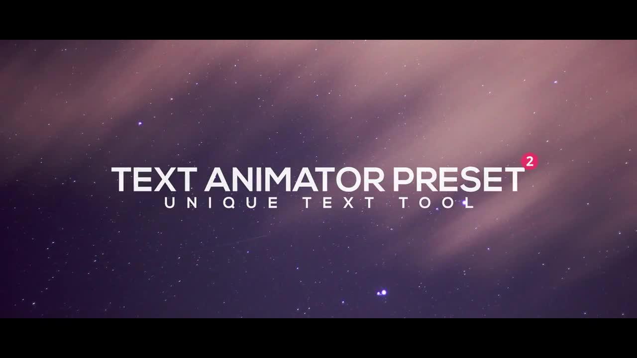 Text Animator Preset V.2 192545 + Music