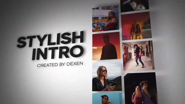 Stylish Intro: After Effects Templates