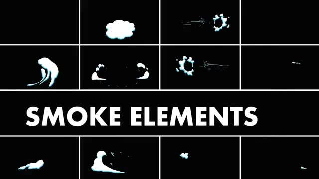 Smoke Elements Pack: Stock Motion Graphics