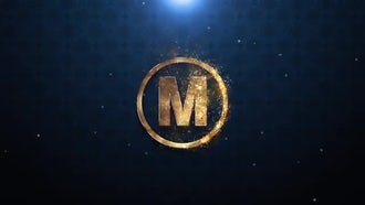 Gold Metal Logo: After Effects Templates