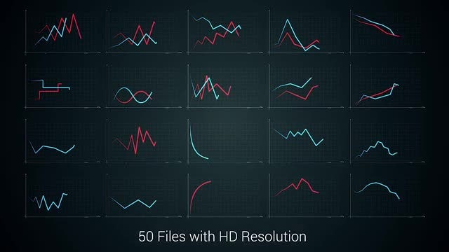 50 Diagrams Pack: Stock Motion Graphics