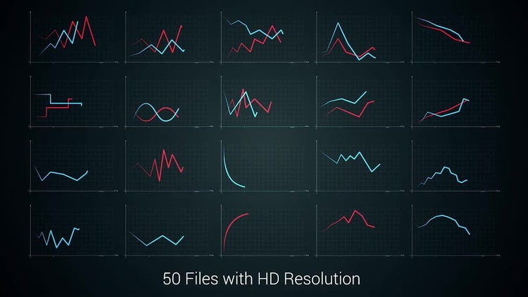 50 Diagrams Pack: Motion Graphics