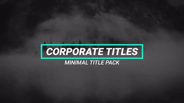 15 Title Animation: After Effects Templates