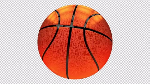 Basketball Ball: Stock Motion Graphics