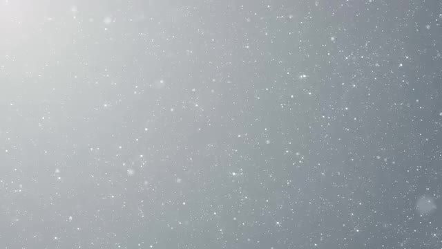 White Particles Cascade On Gray: Stock Motion Graphics
