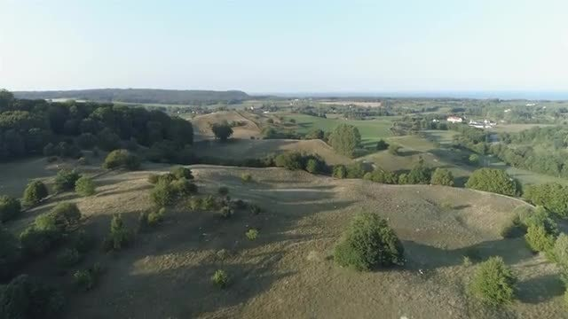 Countryside Aerial: Stock Video