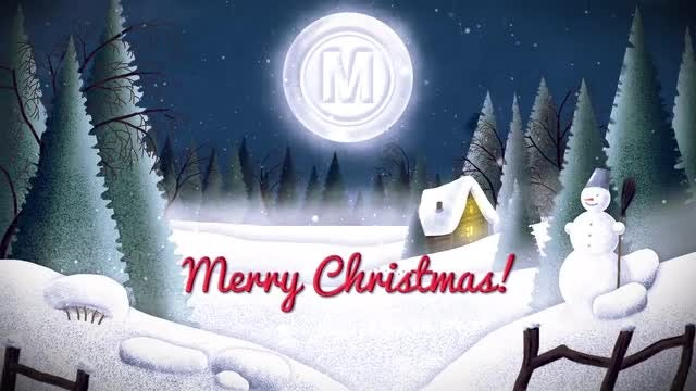 Christmas Card Logo: After Effects Templates