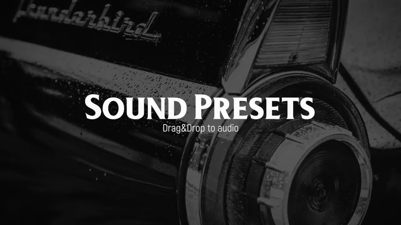 Vintage Sound FX 193700 + Music
