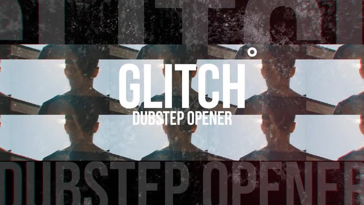 Dubstep Glitch Opener: After Effects Templates
