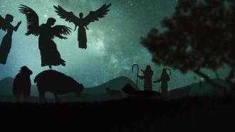 Christmas Nativity Background: Motion Graphics