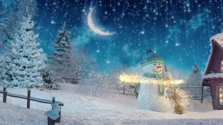 Christmas Greetings Opener: After Effects Templates