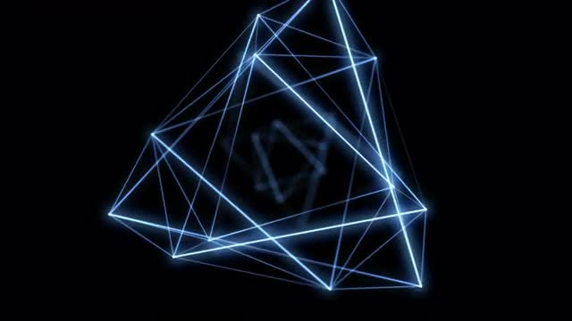 Glow Geometry Overlay: Stock Motion Graphics