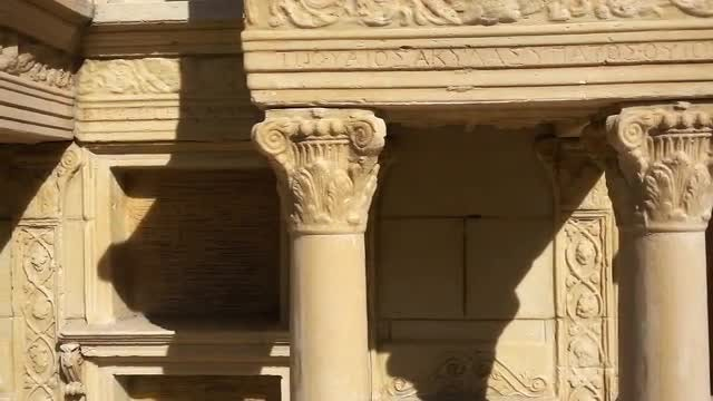 Roman Empire Building: Stock Video