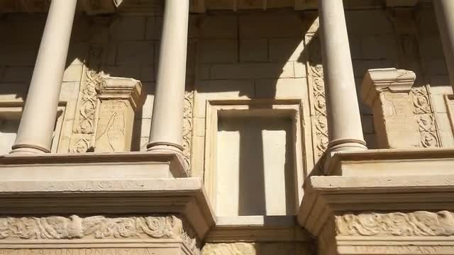 Stone Columns: Stock Video