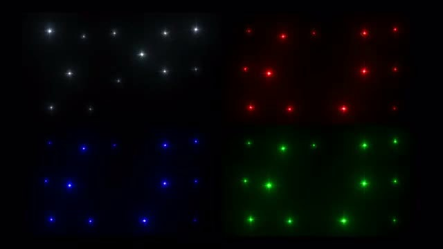 Stars LED Wall Flash Pack: Stock Motion Graphics