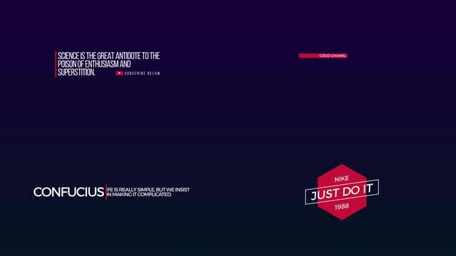10 Dynamic Titles: After Effects Templates