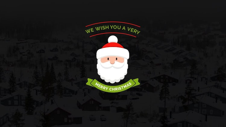 Merry Christmas Lower Thirds & Titles: Premiere Pro Templates