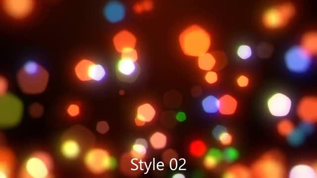Festive Season Bokeh Pack: Stock Motion Graphics