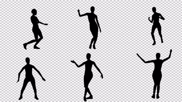Girl Dancing Hip-Hop Pack: Stock Motion Graphics