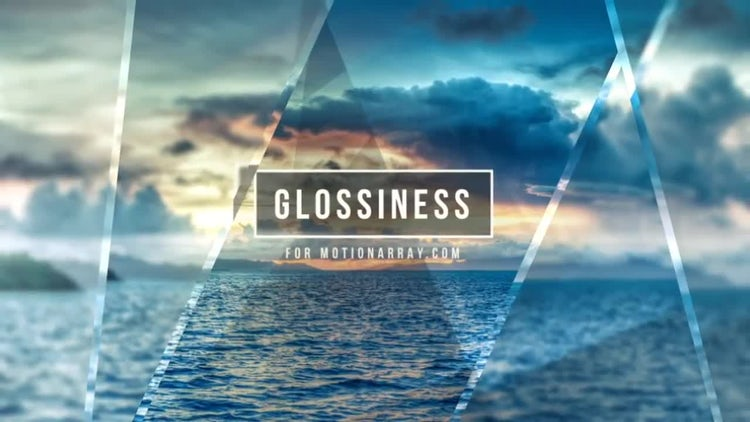 Glossiness: After Effects Templates