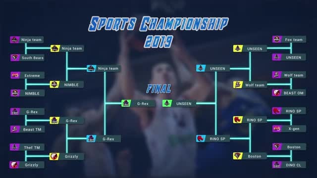 Sports Brackets: After Effects Templates