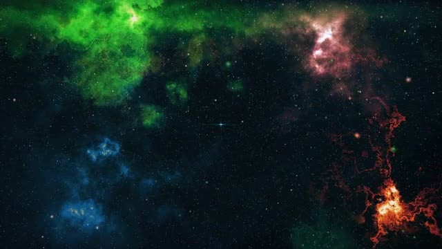 A Big Explosion In Space: Stock Motion Graphics