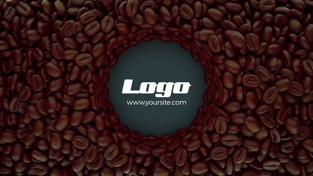 Coffee Logo Opener: After Effects Templates