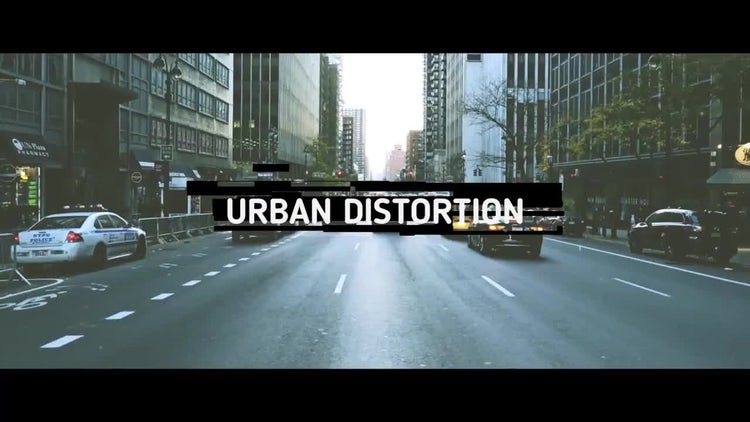 Urban Distortion: After Effects Templates