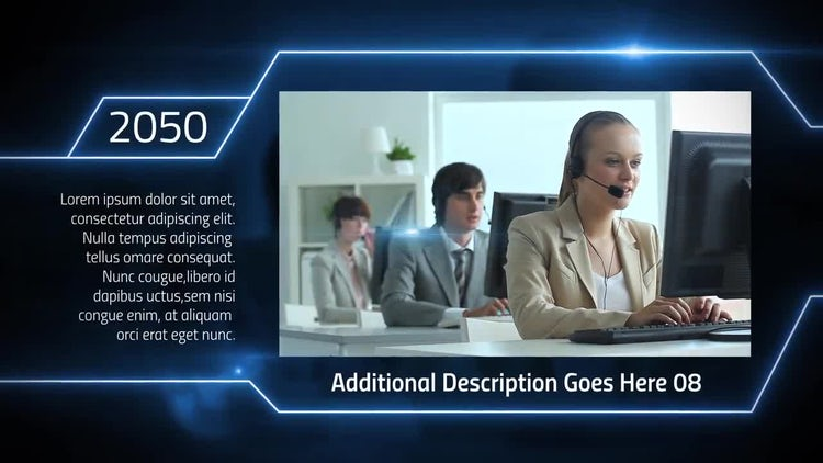Corporate Digital Timeline: After Effects Templates