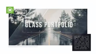 Glass Portfolio: After Effects Templates