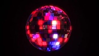 Disco Club Ball: Motion Graphics