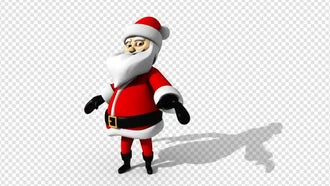 Santa Claus Dancing: Motion Graphics