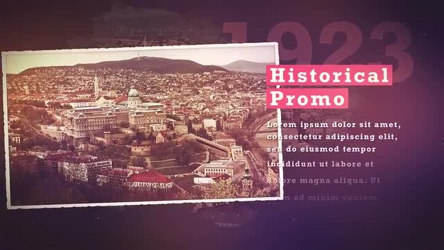 Historical Promo: After Effects Templates