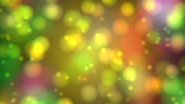 Blurred Bubble Bokeh Background: Stock Motion Graphics