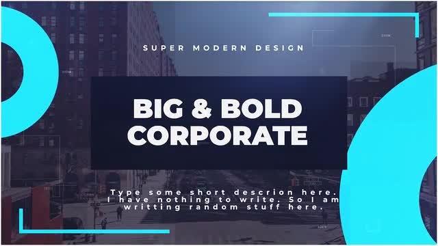 Big & Bold Corporate: Premiere Pro Templates