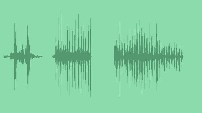 Glitch Intro Transition: Sound Effects