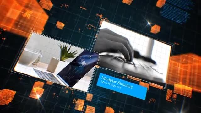 Hi Tech Slideshow: After Effects Templates