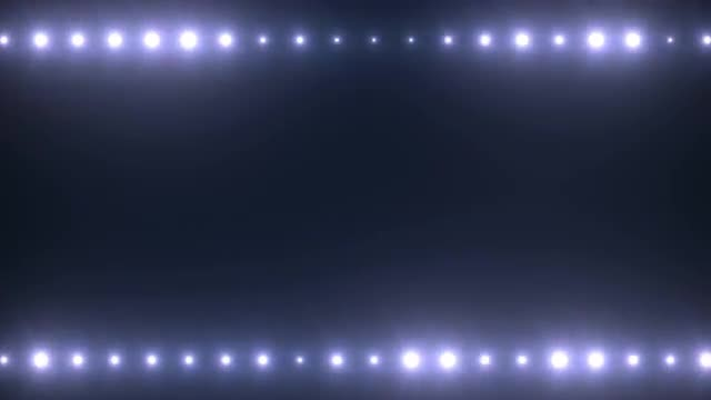 Top-Bottom Stage Lights Flashing Pack: Stock Motion Graphics
