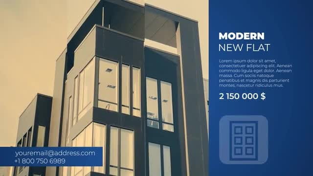 Modern Real Estate Slideshow: After Effects Templates