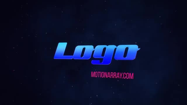 Short Dark Glossy Logo: After Effects Templates